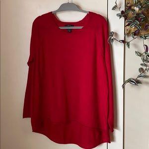 Tahari 2X Extrafine Merino Wool Sweater
